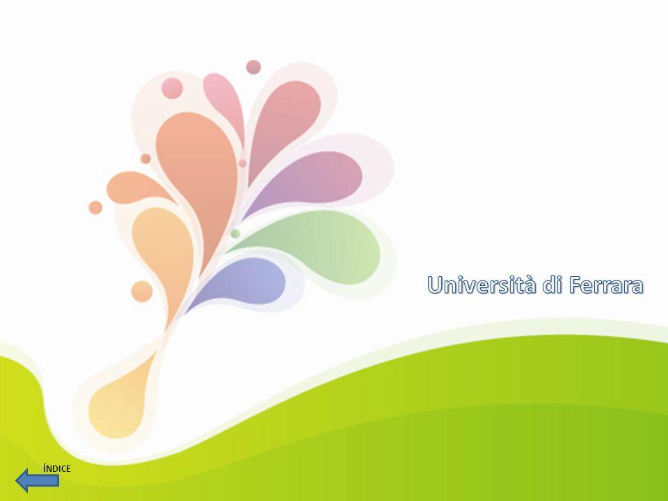 Università di Ferrara ÍNDICE