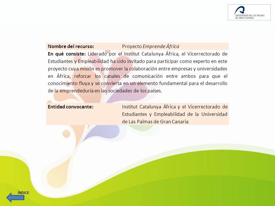 Proyecto Emprende África