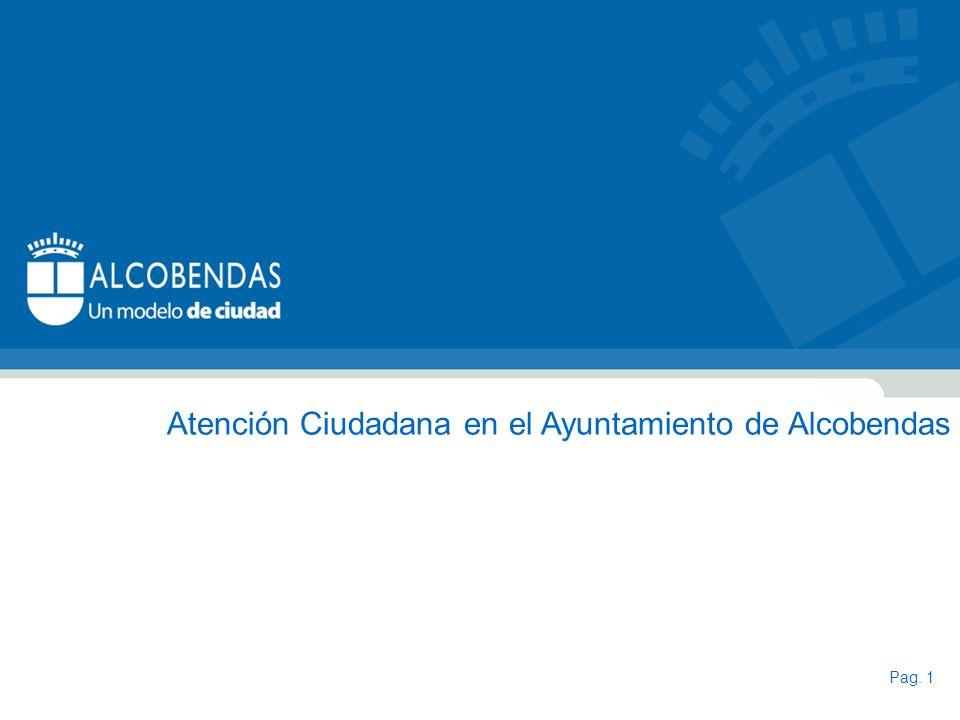 Atención Ciudadana en el Ayuntamiento de Alcobendas