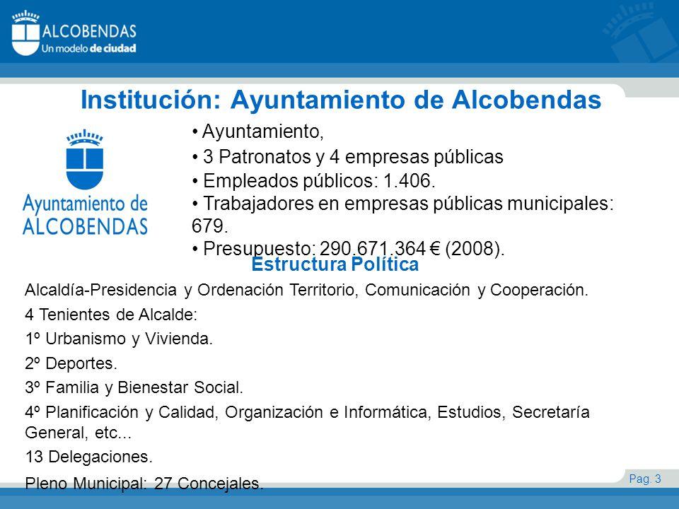 Institución: Ayuntamiento de Alcobendas