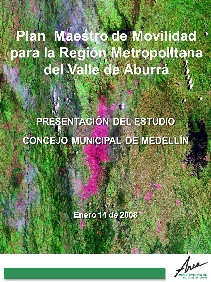 PRESENTACIÓN DEL ESTUDIO CONCEJO MUNICIPAL DE MEDELLÍN