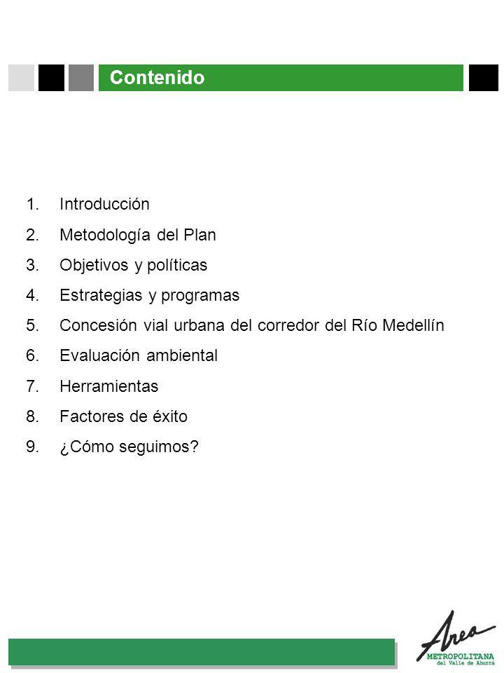 Contenido Introducción Metodología del Plan Objetivos y políticas