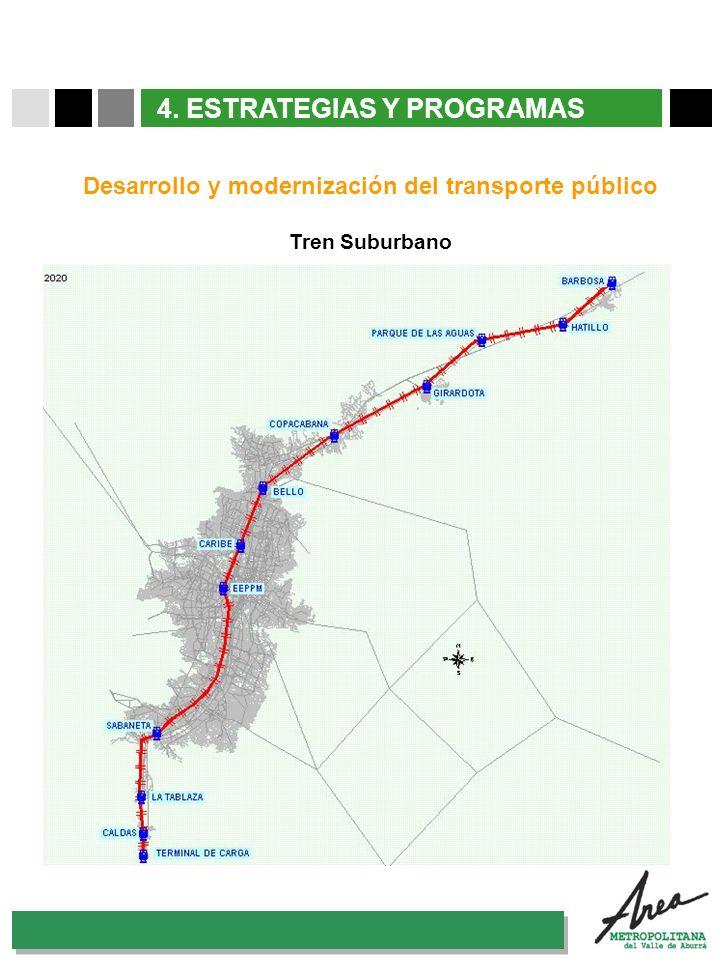 Desarrollo y modernización del transporte público