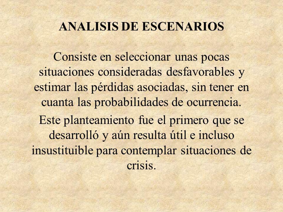 ANALISIS DE ESCENARIOS