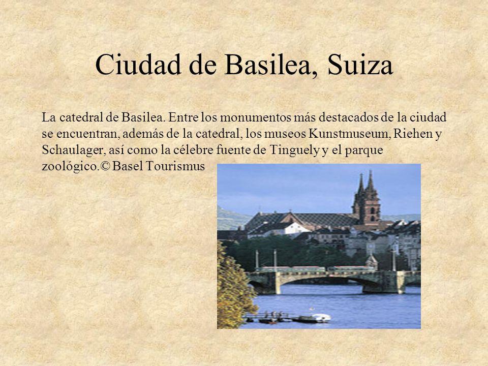 Ciudad de Basilea, Suiza
