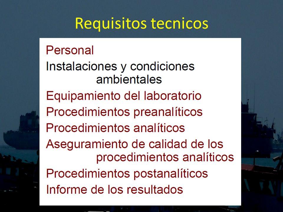 Requisitos tecnicos