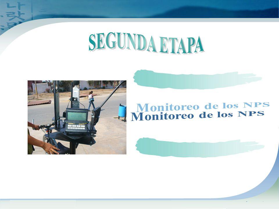 SEGUNDA ETAPA Monitoreo de los NPS www.themegallery.com Company Logo