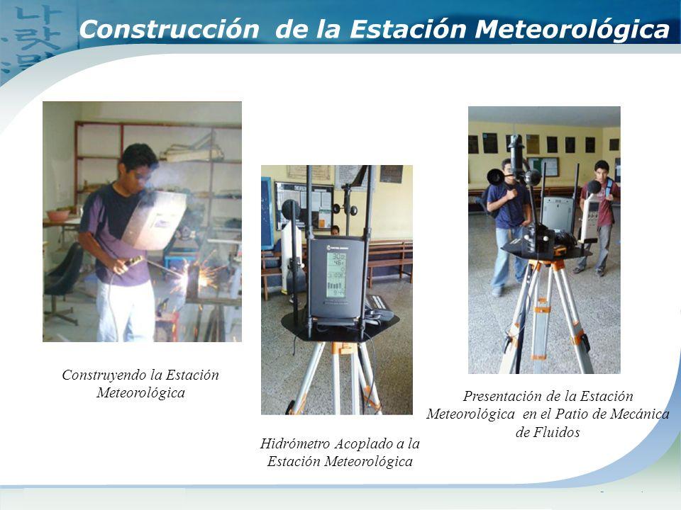 Construcción de la Estación Meteorológica