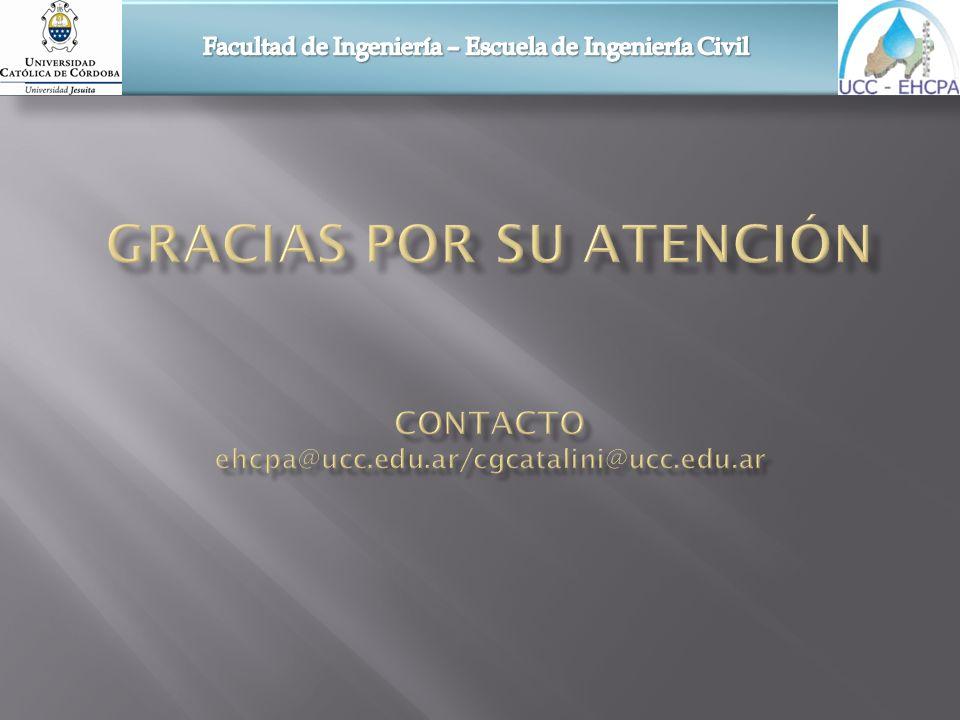 Facultad de Ingeniería – Escuela de Ingeniería Civil