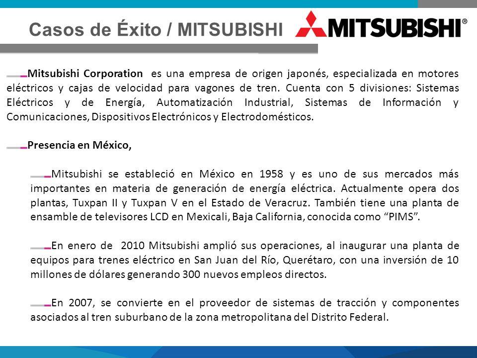 Casos de Éxito / MITSUBISHI