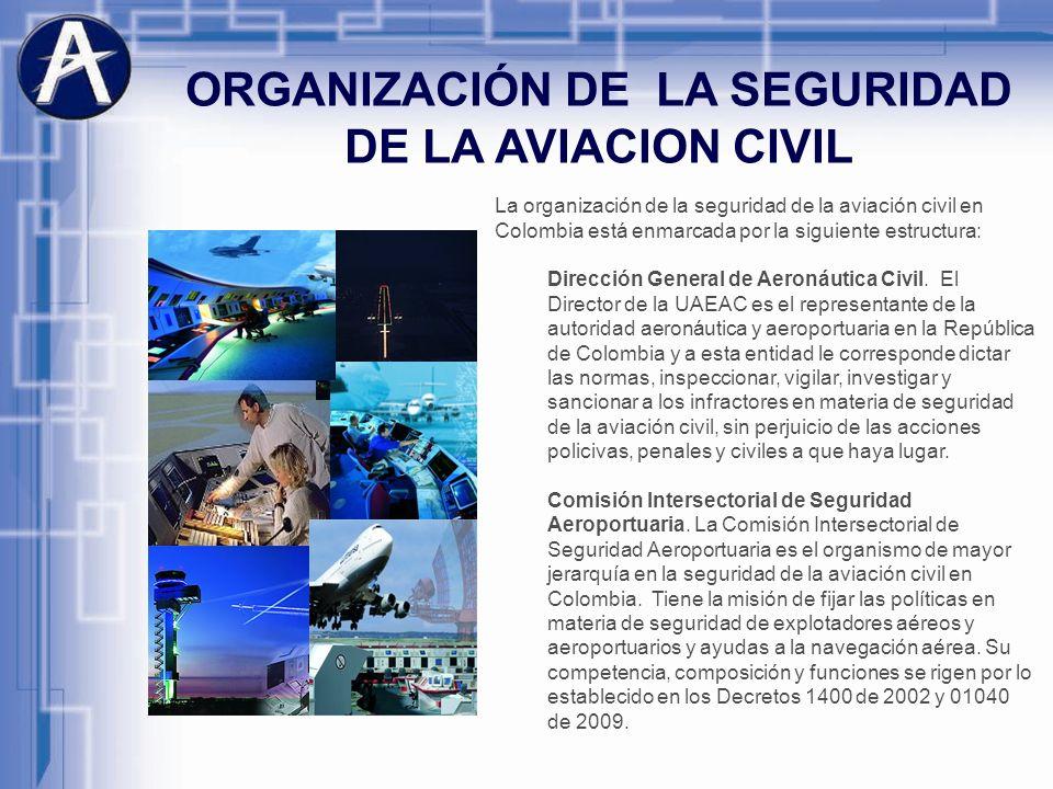 ORGANIZACIÓN DE LA SEGURIDAD DE LA AVIACION CIVIL