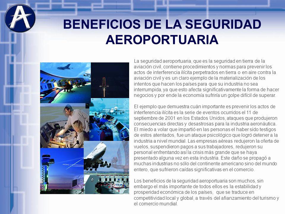BENEFICIOS DE LA SEGURIDAD AEROPORTUARIA