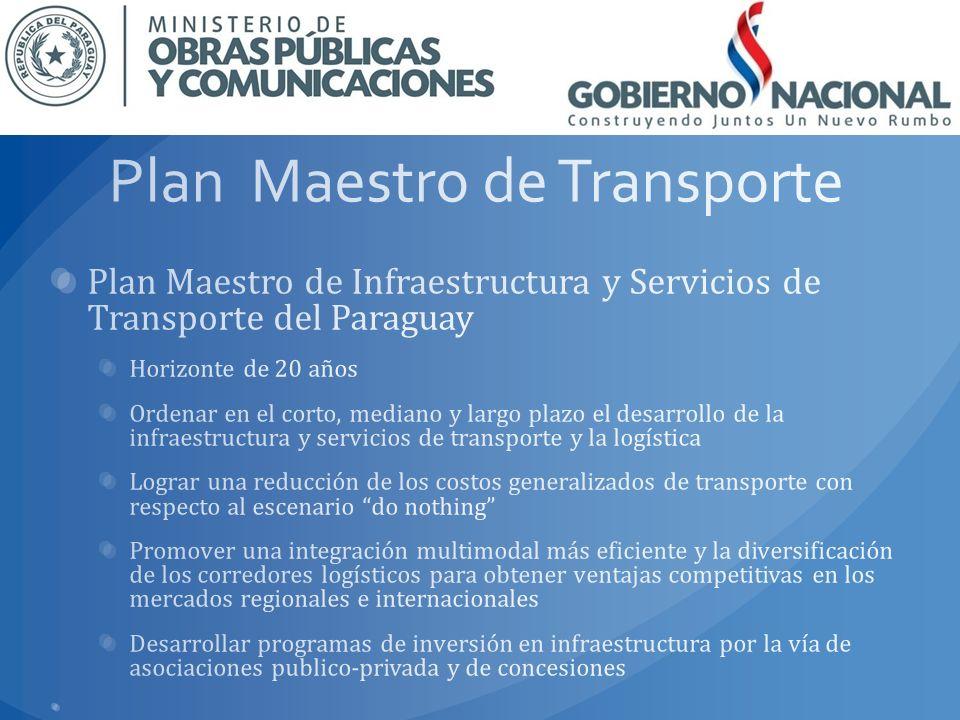Plan Maestro de Transporte