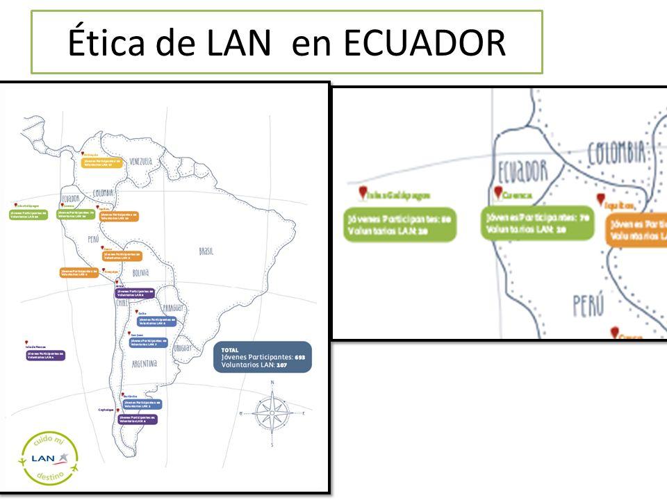 Ética de LAN en ECUADOR