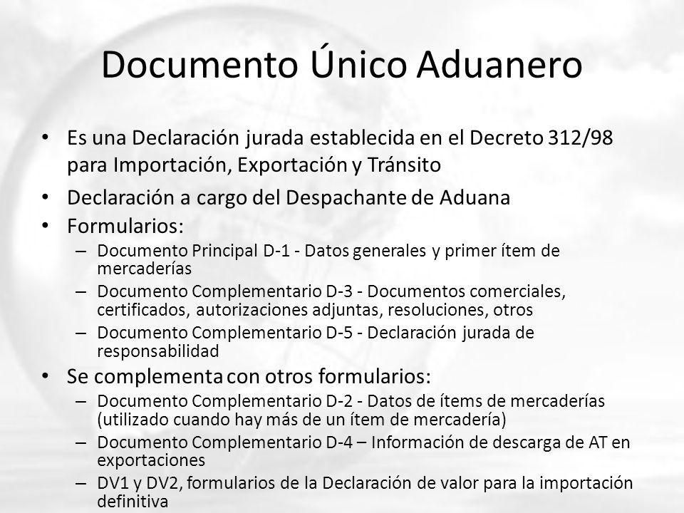 Documento Único Aduanero