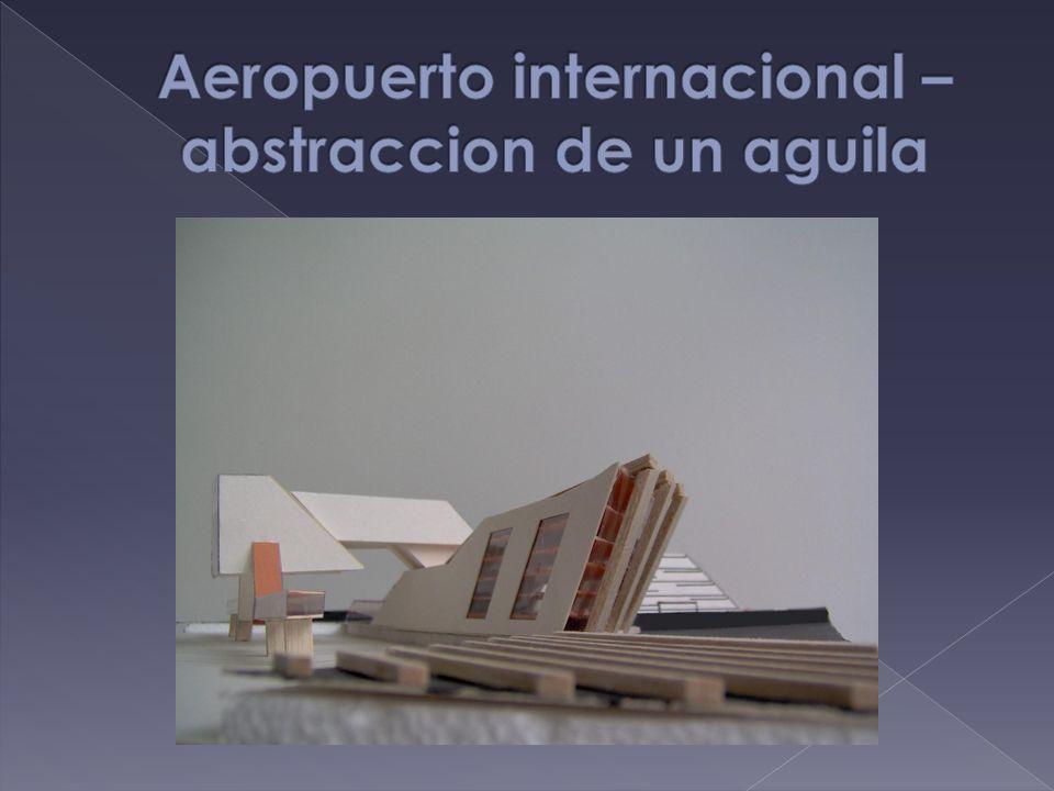 Aeropuerto internacional – abstraccion de un aguila