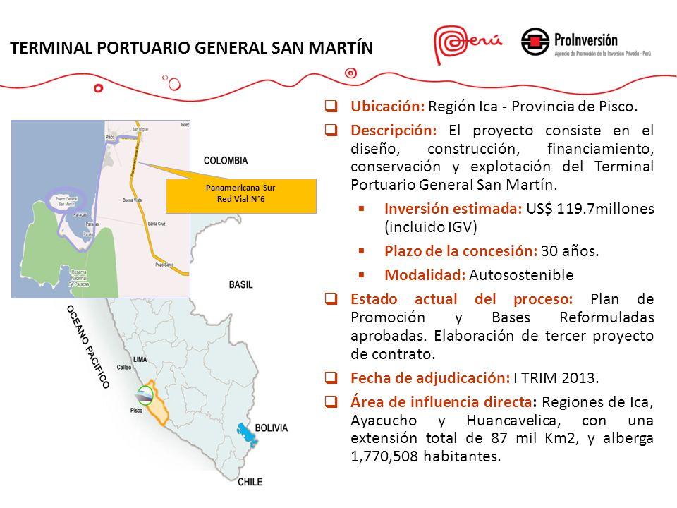 TERMINAL PORTUARIO GENERAL SAN MARTÍN