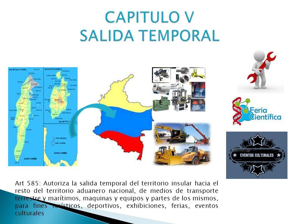CAPITULO V SALIDA TEMPORAL