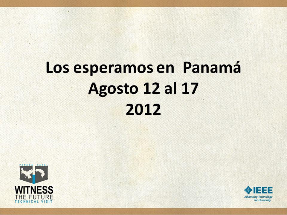 Los esperamos en Panamá