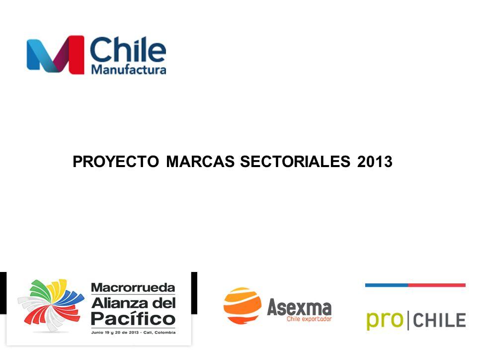 PROYECTO MARCAS SECTORIALES 2013