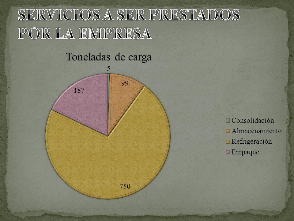 SERVICIOS A SER PRESTADOS POR LA EMPRESA