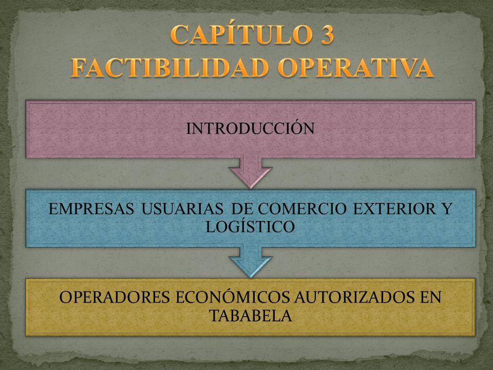 FACTIBILIDAD OPERATIVA