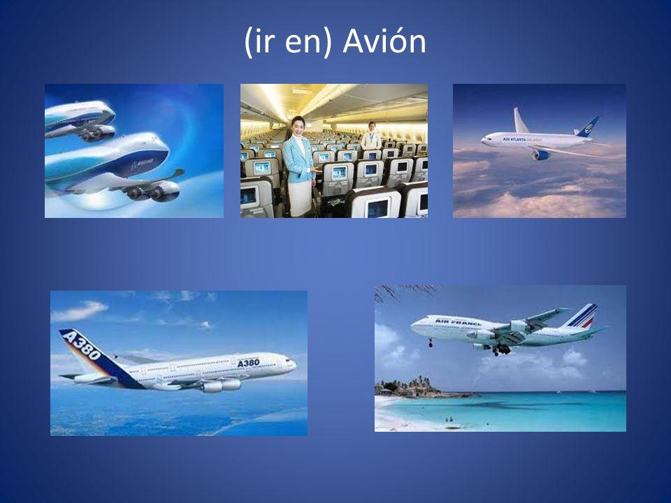 (ir en) Avión