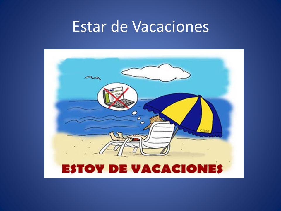 Estar de Vacaciones
