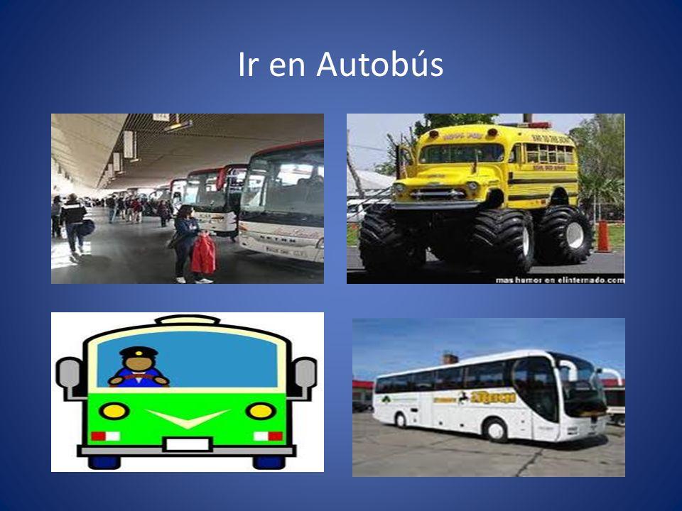 Ir en Autobús