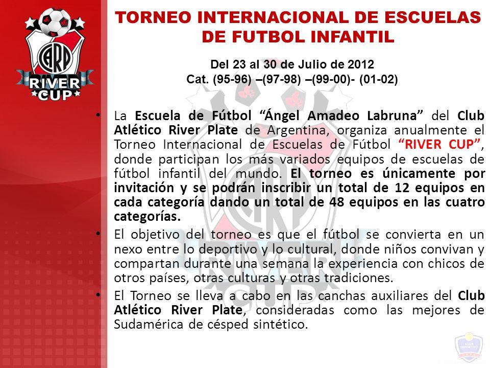 TORNEO INTERNACIONAL DE ESCUELAS DE FUTBOL INFANTIL