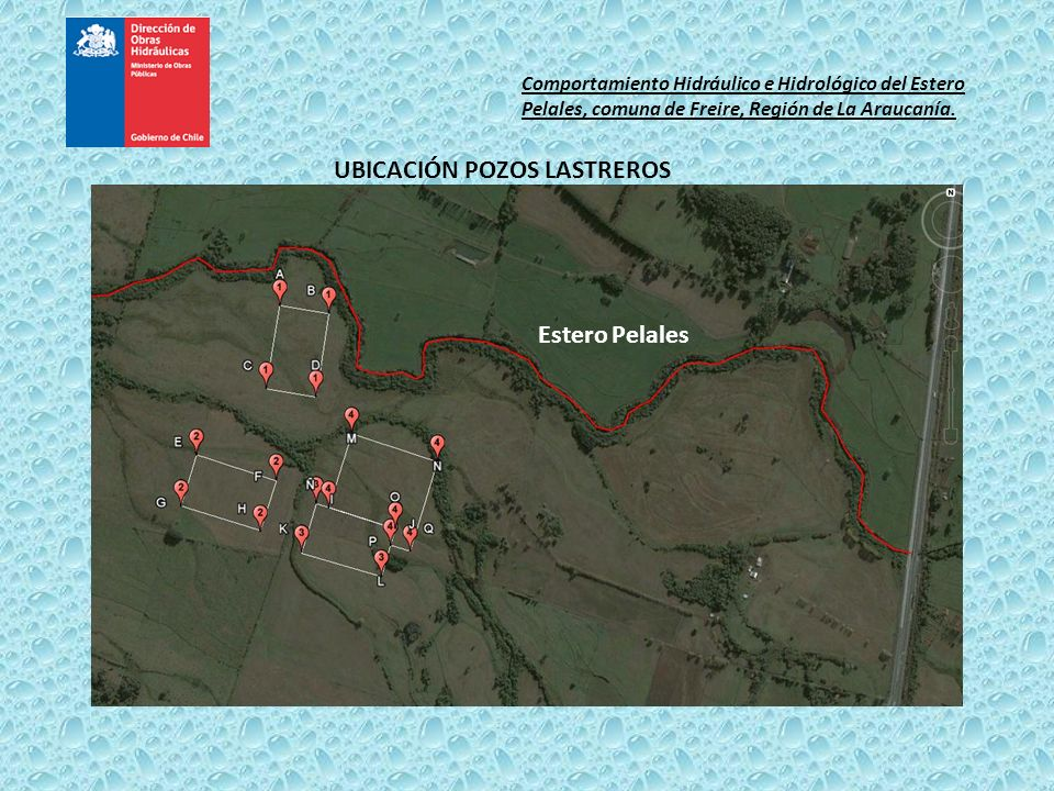 UBICACIÓN POZOS LASTREROS