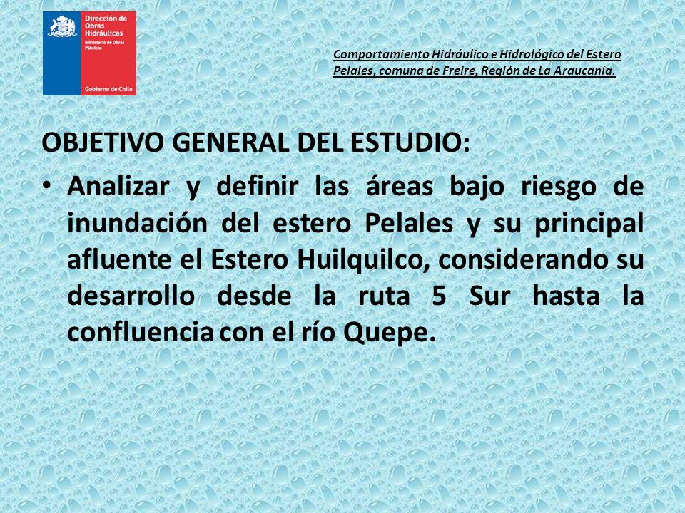 OBJETIVO GENERAL DEL ESTUDIO: