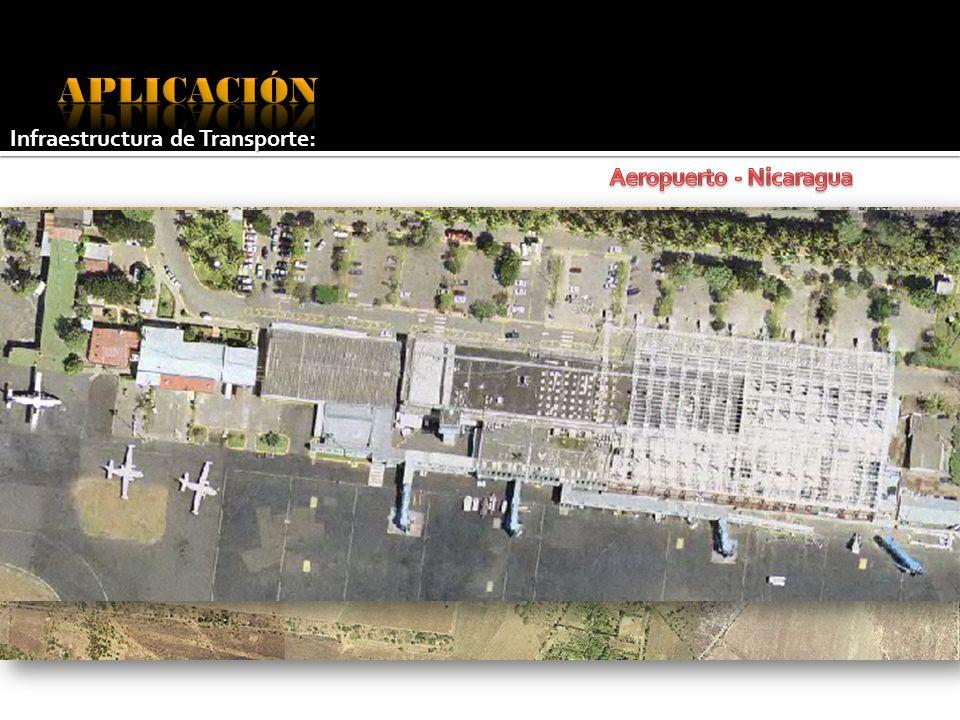 APLICACIÓN Infraestructura de Transporte: Aeropuerto - Nicaragua