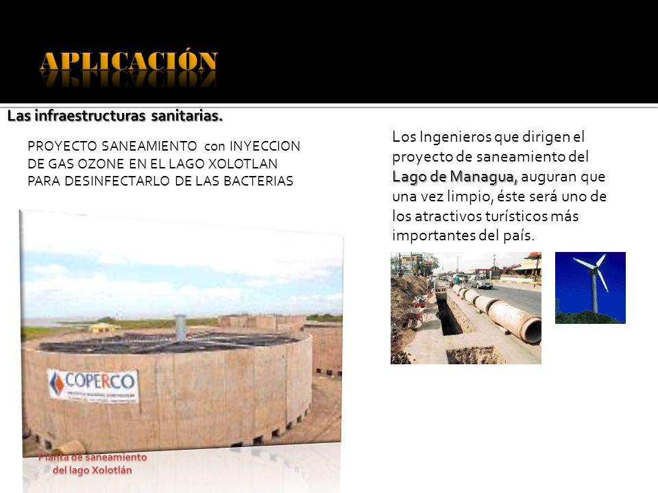 Planta de saneamiento del lago Xolotlán