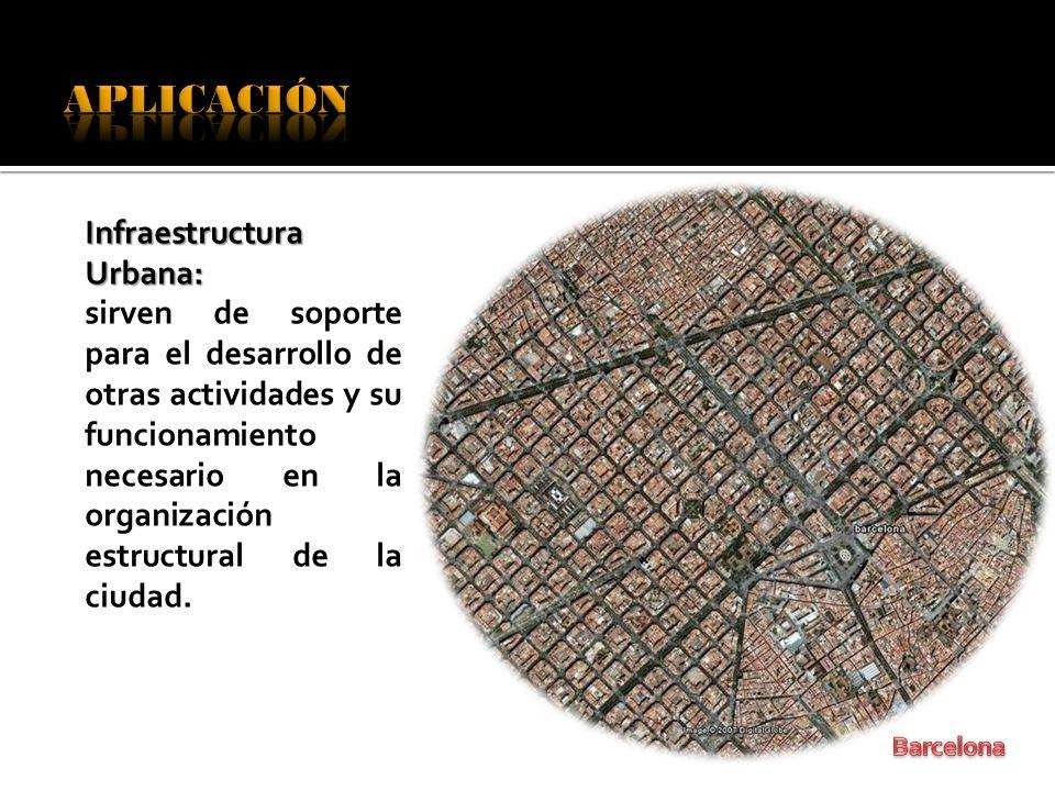 APLICACIÓN Infraestructura Urbana: