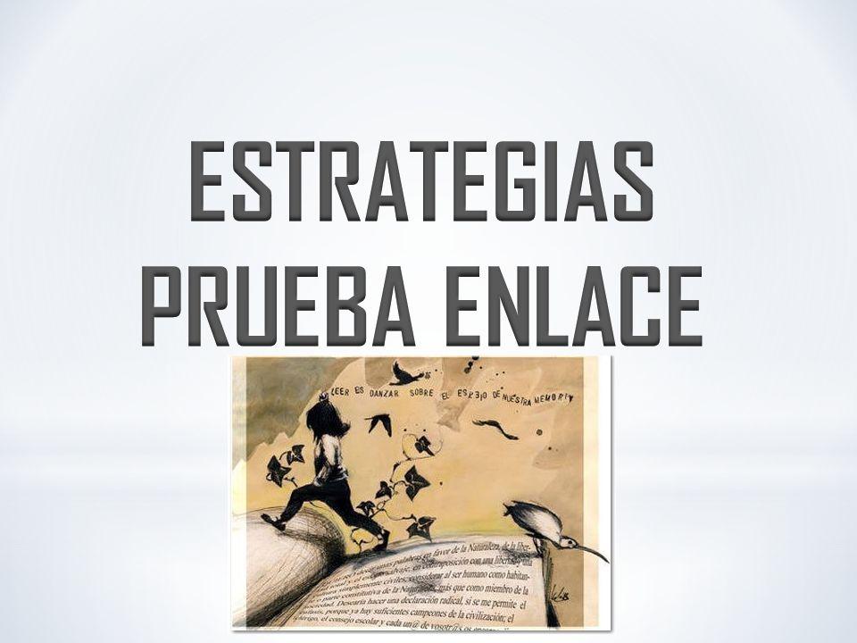 ESTRATEGIAS PRUEBA ENLACE