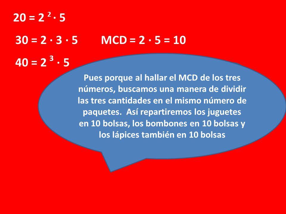 ¿Por qué calculamos el MCD