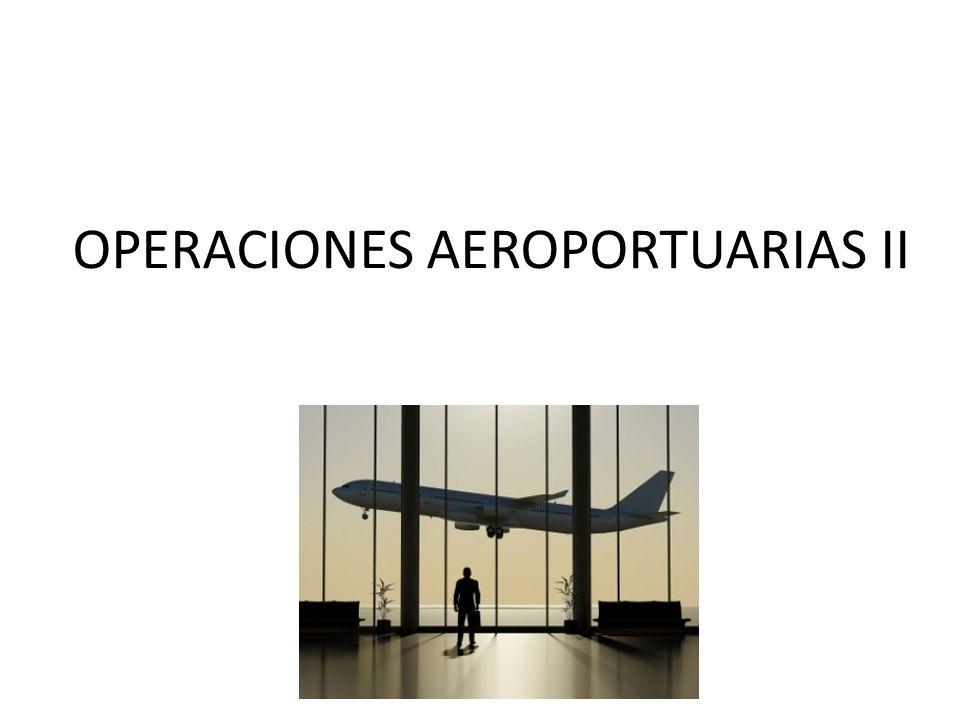 OPERACIONES AEROPORTUARIAS II