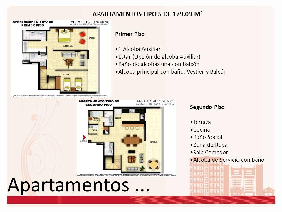 Apartamentos ... APARTAMENTOS TIPO 5 DE 179.09 M2 Primer Piso