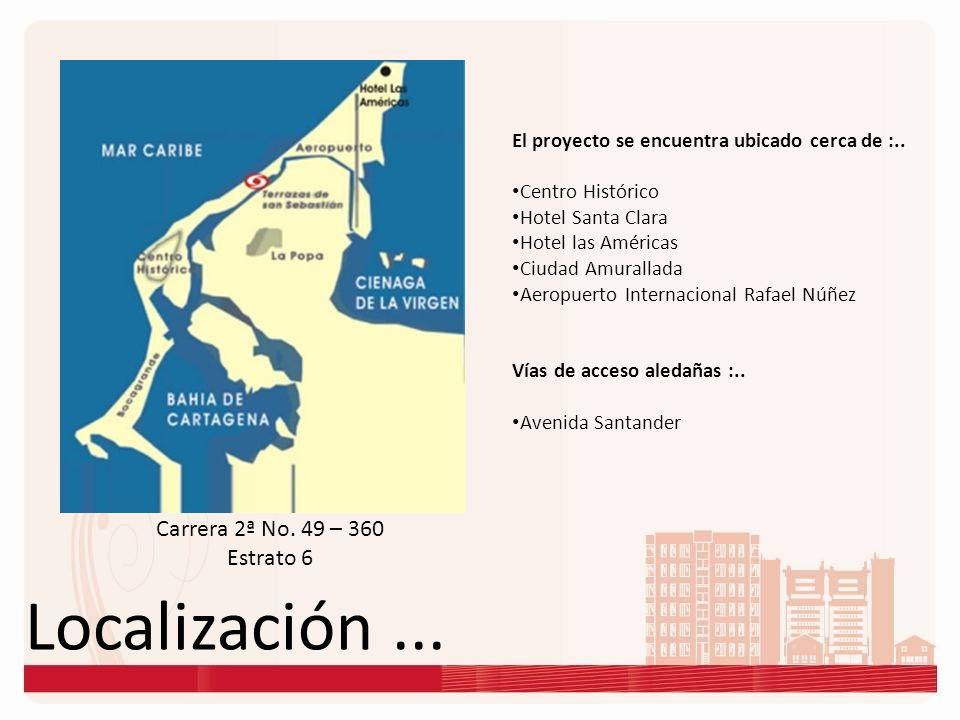 Localización ... Carrera 2ª No. 49 – 360 Estrato 6
