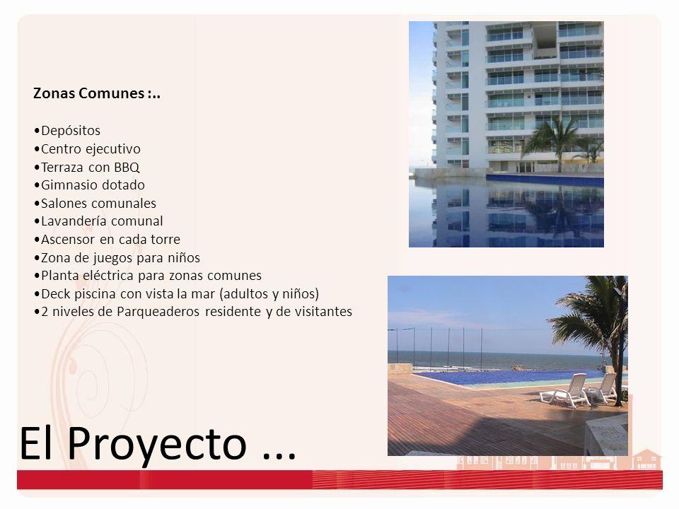 El Proyecto ... Zonas Comunes :.. Depósitos Centro ejecutivo