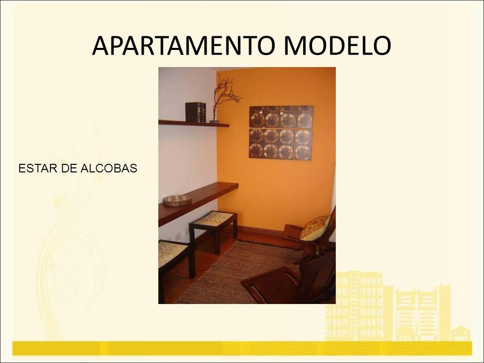 APARTAMENTO MODELO ESTAR DE ALCOBAS