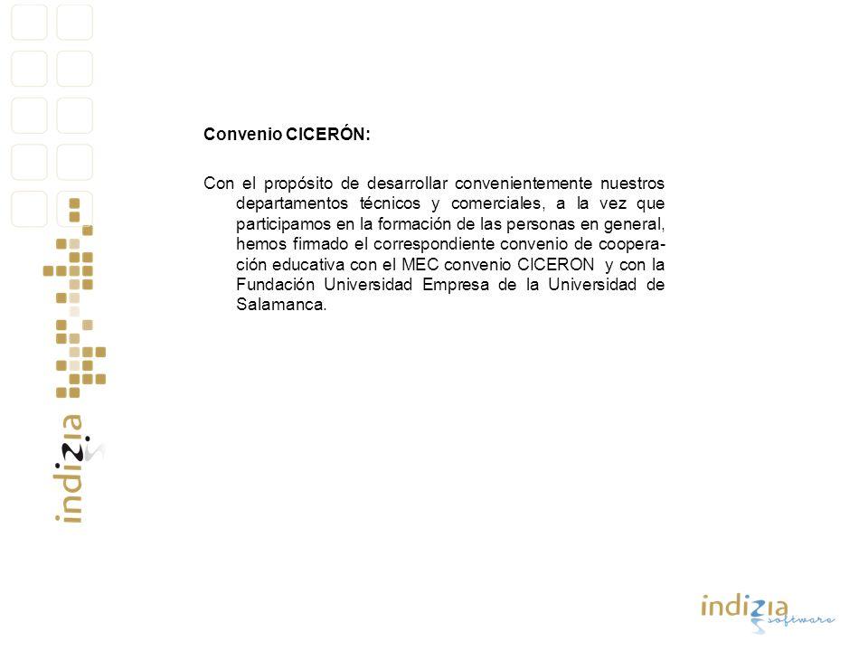 Convenio CICERÓN:
