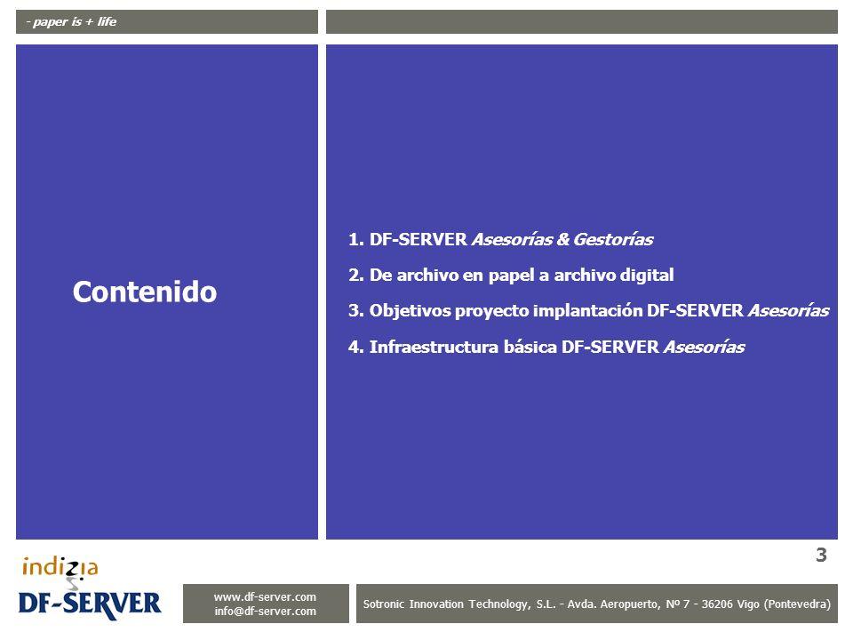 Contenido DF-SERVER Asesorías & Gestorías