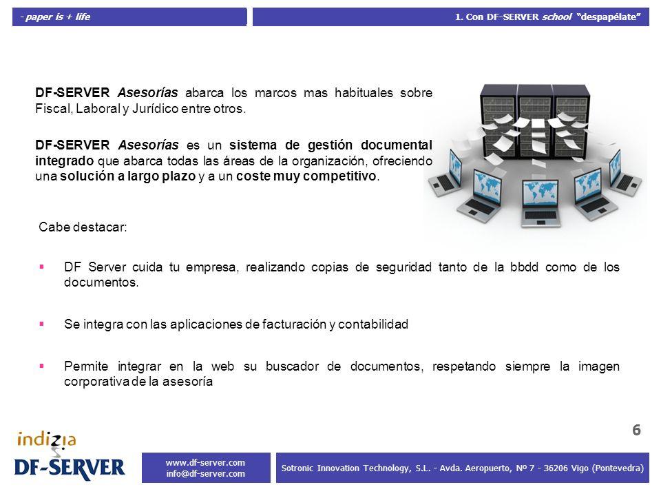 Se integra con las aplicaciones de facturación y contabilidad