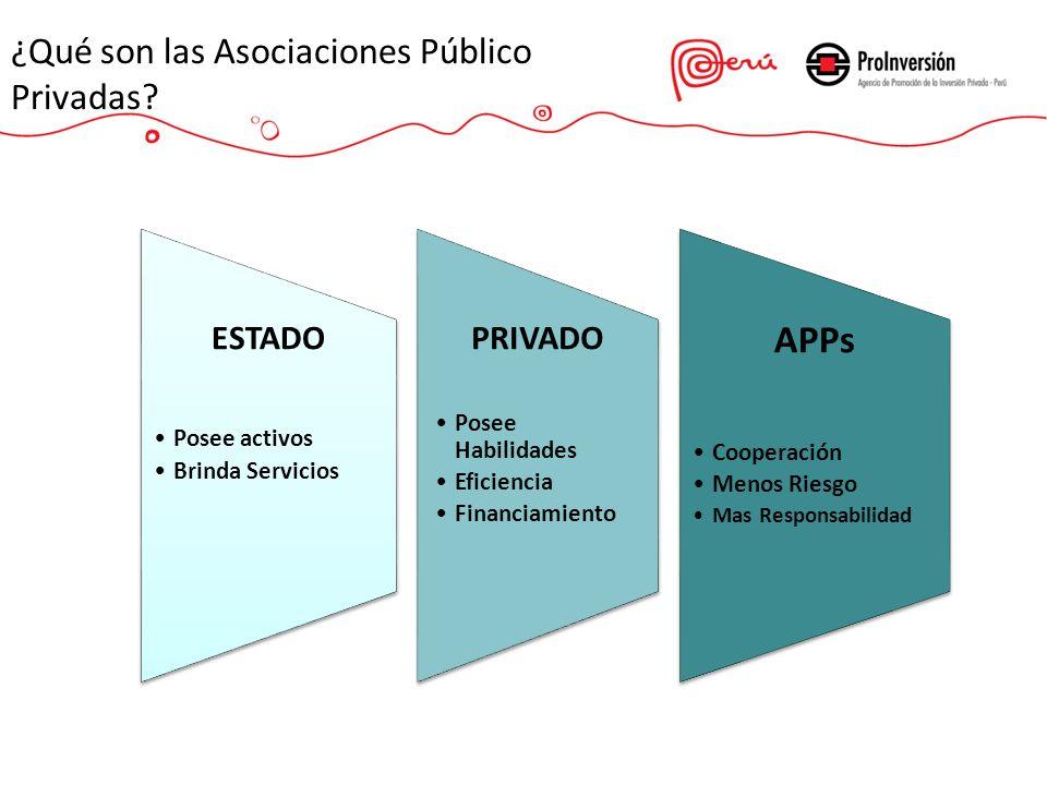 ¿Qué son las Asociaciones Público Privadas