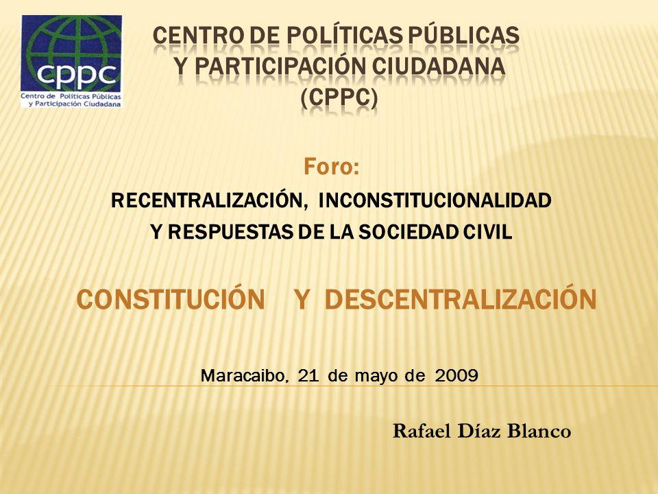 Centro de Políticas Públicas y Participación ciudadana (CPPC)