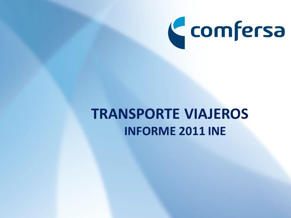 TRANSPORTE VIAJEROS INFORME 2011 INE