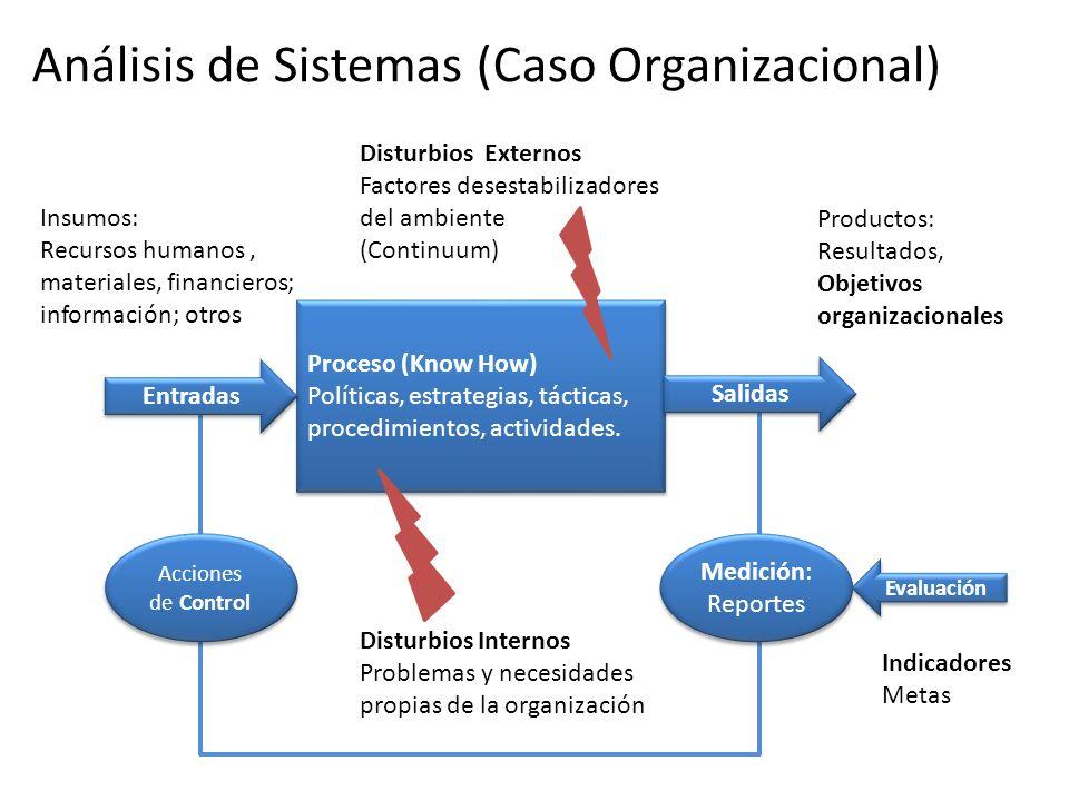 Análisis de Sistemas (Caso Organizacional)