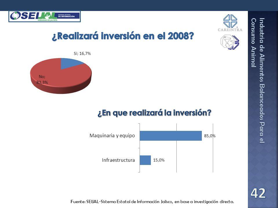 ¿Realizará inversión en el 2008